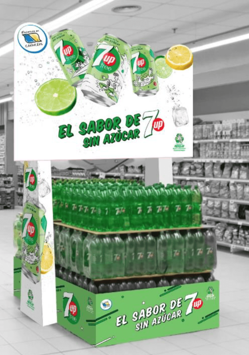 refresco, canarias, 7up