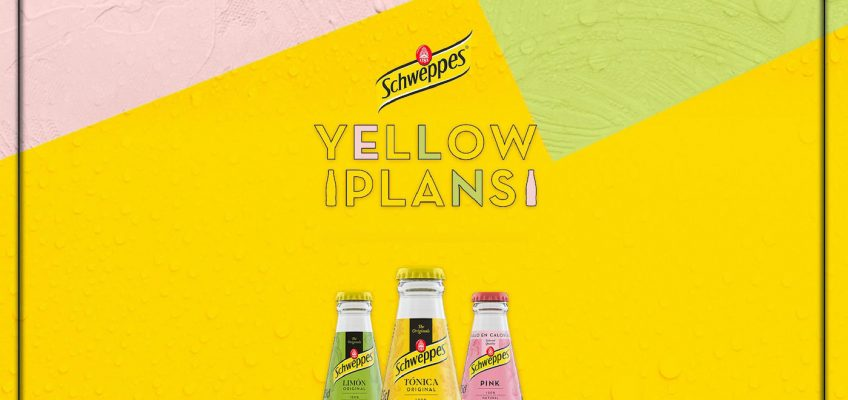 Yellow Plans By Schweppes